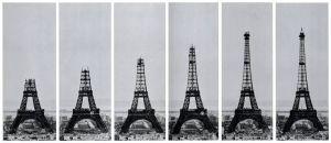 La Tour Eiffel du 14 octobre 1888 au mars 1889